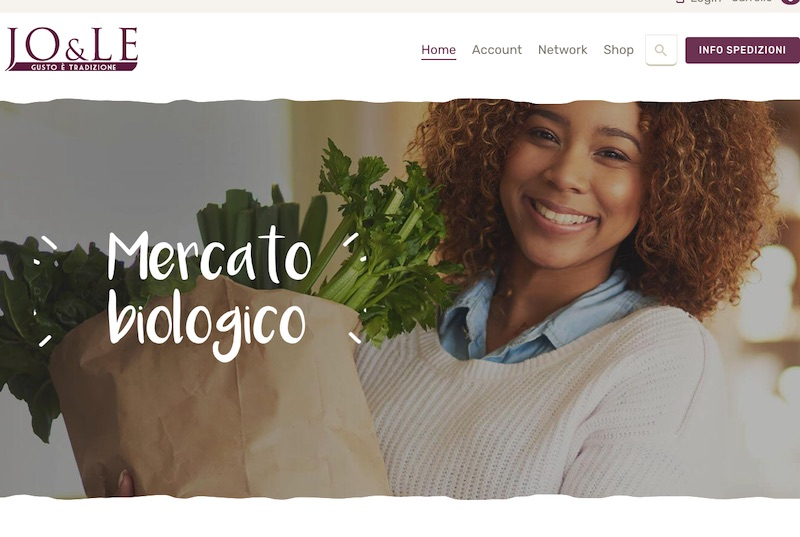 sviluppo e-commerce b2b food