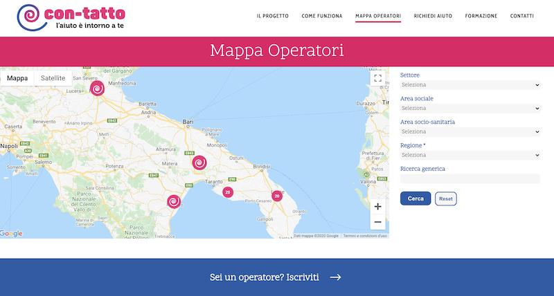 Sviluppo portale web per operatori sanitari